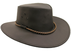 No. 2H17The Echuca Hat, Slicker Leather