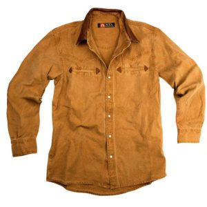 No. 5S02Kakadu Nashville Gunn Worn 10oz Canvas Western Shirt