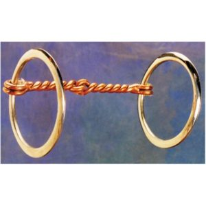 No. 25-114Twisted Wire Snaffle Bit