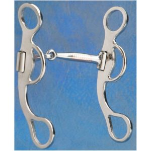 No. 25-243Brush Rider Snaffle Bit / Shanked Snaffles