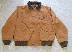 No. 5B21KaKaDu, Double Bay Bomber Jacket. Gunn Worn Canvas