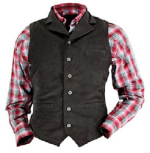 No. 23195Kansas Microsuede Vest, Men's