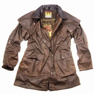 No. 5J05KaKaDu Iron Bark Jacket, 3/4 Length 12oz Oilskin