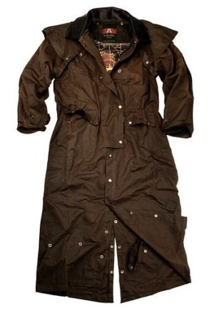 No. 3002Kakadu Long Rider  3 in 1 Outback Coat, 10oz Oilskin