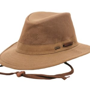 No. 1455Willis Canvas Hat with Mesh