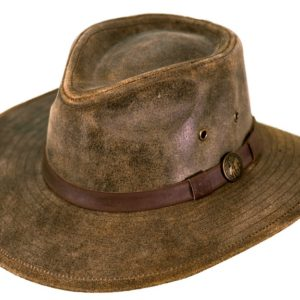 No. 1356Leather Kodiak Hat