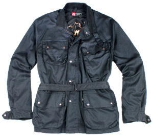 No. 4J42 Kakadu Nelson Jacket, 10oz Oilskin Jacket