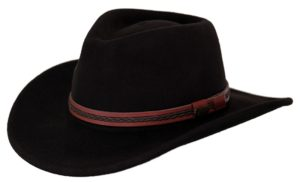 No. 1328High Country Tassy Crusher Wool Hat