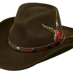 No. 1336Wide Open Spaces Tassy Crusher Wool Hat