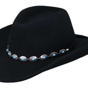 No. 1346Silverton Tassy Crusher Wool Hat