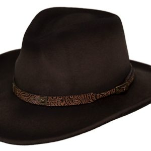 No. 1364Stamped Approval Tassy Crusher Wool Hat