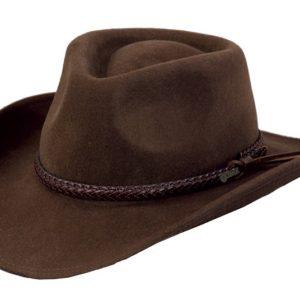 No. 1379Dusty Rider Tassy Crusher Wool Hat