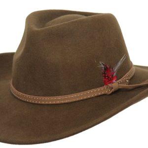 No. 1391Cooper River Tassy Crusher Wool Hat