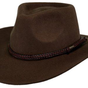 No. 1392Broken Hill Tassy Crusher Wool Hat
