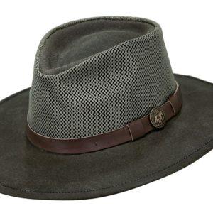 No. 1472Kodiak with Mesh Oilskin Outback Hat