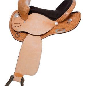 "No. 3016Pace Maker Barrel Saddle 14, 15, 16"" Seat"