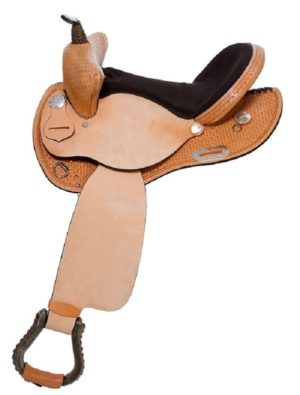 "No. 3016Pace Maker Barrel Saddle 14, 15, 16"" Seat"