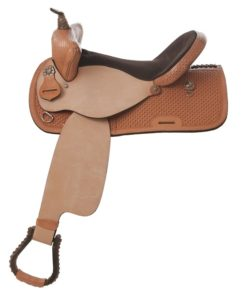 "No. 431Pace Breaker Barrel Saddle 14, 15,16"" Seat"