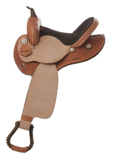 "No. 433 BEAR MTN Barrel Saddle 14, 15, 16"" Seat"