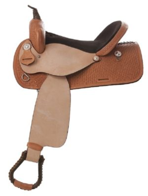 "No. 434Bear Valley Barrel Saddle 14, 15, 16"" Seat"