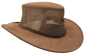 No. 9H13The Bendigo Hat, Mossback Suede w/ Mesh
