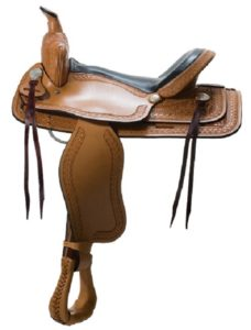 "No. 3090Oak Ridge Trail Pleasure Saddle 15, 16,17"" Seat"