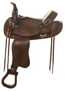 "No. 473Mustang Trail Pleasure Saddle 15, 16, 17"" Seat"