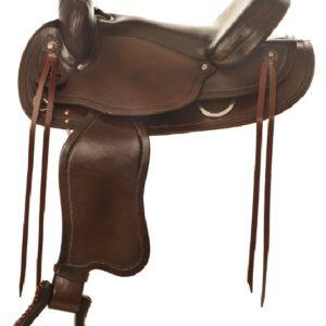 "No. 473Mustang Trail Pleasure Saddle 15, 16, 17"" Seat"
