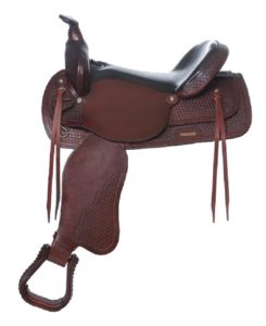 "No. 4155Santa Fe Trail Pleasure Saddle 15, 16, 17"" Seat"