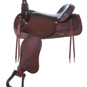 "No. 4155Santa Fe Trail Pleasure Saddle 15, 16, 17"" Seat"