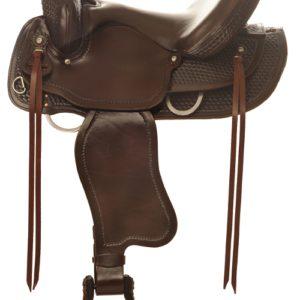 "No. 4158Sierra Flex Trail Pleasure Saddle 15, 16, 17"" Seat"
