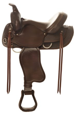 "No. 4158Sierra Flex Trail Pleasure Saddle 15, 16, 17"" Seat"