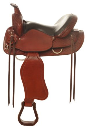 "No. 4159Sierra Flex Trail Pleasure Saddle 15, 16, 17"" Seat"