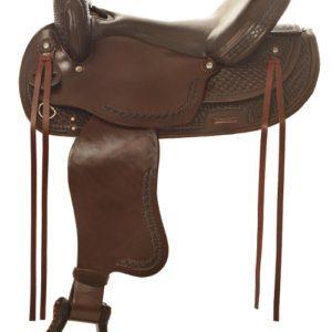 """No. 4156Gallup Pleasure Saddle  14, 15, 16, 17"""" Seat"""