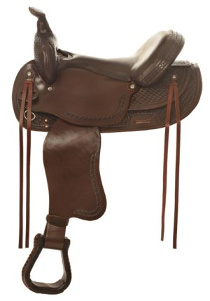"No. 4156Gallup Pleasure Saddle  14, 15, 16, 17"" Seat"