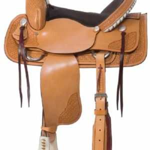 "No. 3456Grand Prairie Roper Saddle 16"" or 17"" Seat"