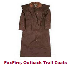 FoxFire, Outback Trail Coats