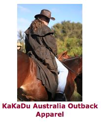 KaKaDu Australia Outback Apparel